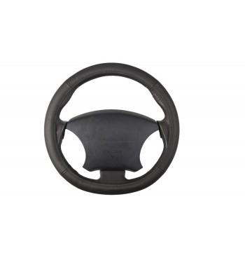 Cubre volante en piel negro
