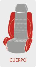 Personalizar color de funda de asiento