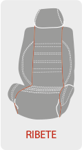 Personalizar el color del ribete de la funda de asiento del coche