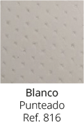 Blanco Punteado 816